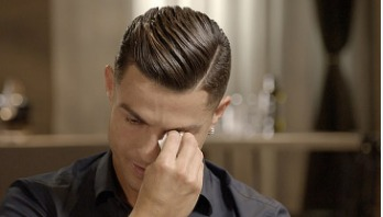 Ronaldo weeps after watching video of his late father