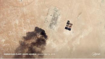 US data 'shows Iran behind Saudi oil attacks'