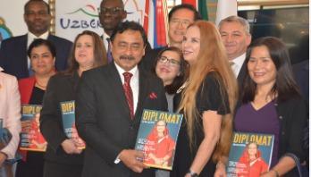 Diplomat Magazine runs cover story on Sheikh Hasina