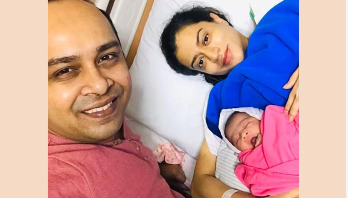 Singer Topu blessed with a baby girl