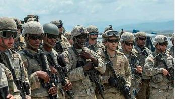 US sending troops to Saudi Arabia