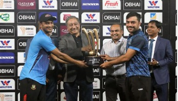 Bangladesh-Afghanistan declared joint champions