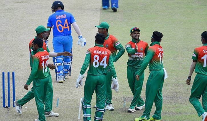Junior Tigers restrict India to 106