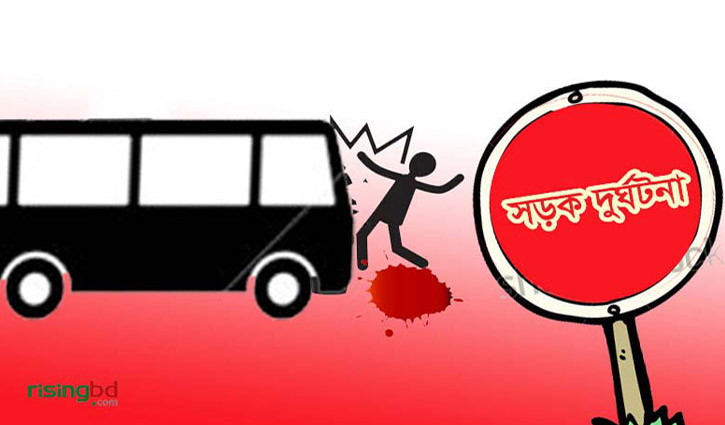 Two crushed under bus in Jashore