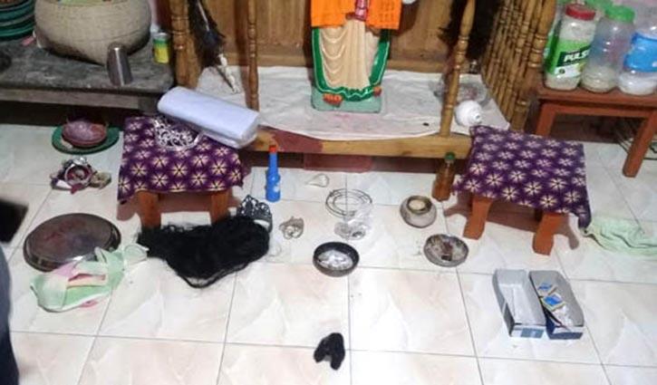 মৌলভীবাজারে আখড়ায় তালা ভেঙ্গে মূর্তি চুরি