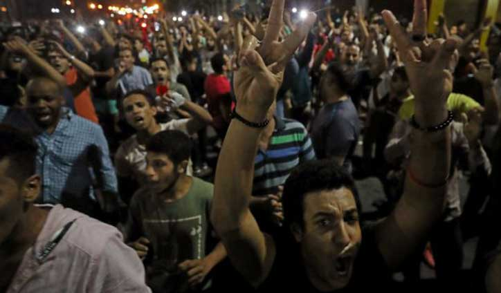 Hundreds detained after rare Egypt Protests