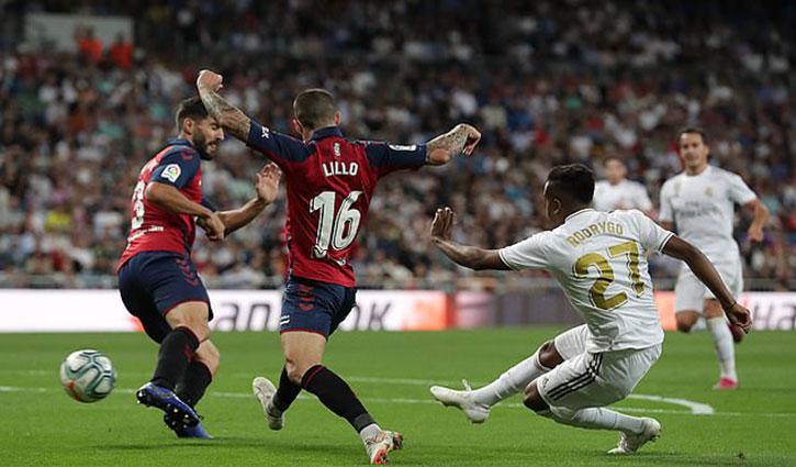 Real Madrid beat Osasuna