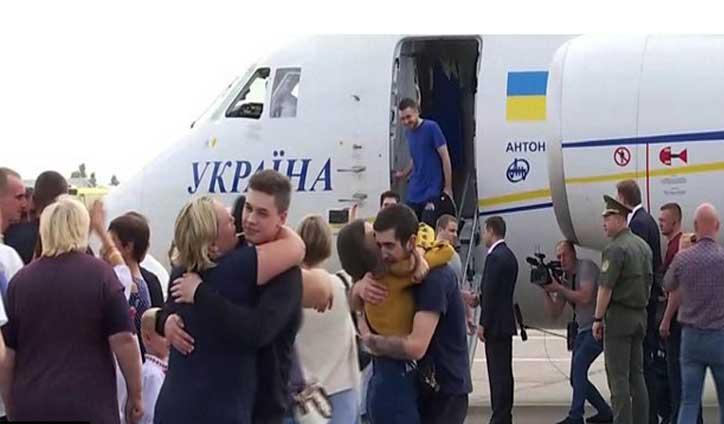 Ukraine, Russia exchange prisoners in landmark deal