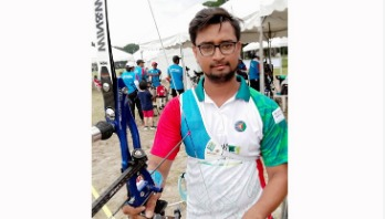 Rumon Shana wins gold in Asia Cup Archery
