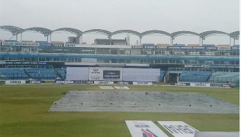 Poor weather delays Afghanistan's victory march