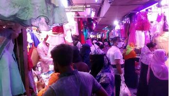 ঈদের মার্কেট: যত কেনাকাটা তত সংক্রমণ ঝুঁকি