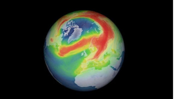 Record-breaking hole in ozone layer over Arctic closed