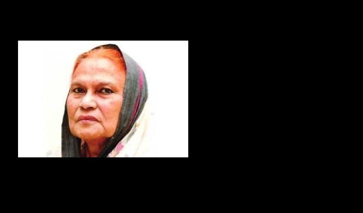 জাতীয় পুরস্কার প্রাপ্ত ক্রীড়াবিদ কাজী জাহেদা আলী আর নেই