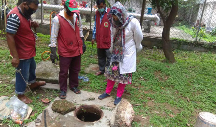 ডেঙ্গু: ডিএনসিসির ৮ ভ্রাম্যমাণ আদালতে জরিমানা ১৬ হাজার