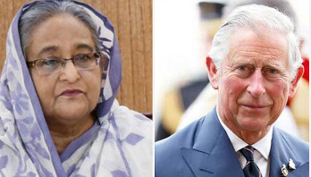 Prince Charles sends letter to PM Sheikh Hasina