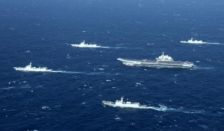 বিশ্বের সবচেয়ে বড় নৌবাহিনী এখন চীনের