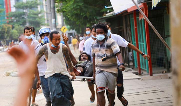 ভয়াবহ অর্থনৈতিক সংকটে পড়তে যাচ্ছে মিয়ানমার