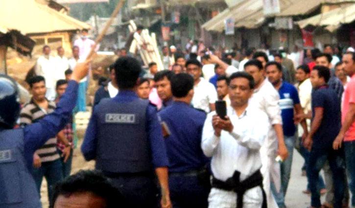 নোয়াখালীতে কাদের মির্জা-বাদলের সমর্থকদের সংঘর্ষ: ৩ গুলিবিদ্ধসহ আহত ২০
