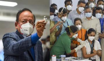 ভারতে একদিনে ১ লাখ ৯১ হাজার করোনার টিকা প্রয়োগ