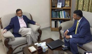 আইনমন্ত্রীর সঙ্গে ভারতীয় হাইকমিশনারের সাক্ষাৎ