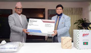 সার্ক কোভিড-১৯ তহবিল: নেপালকে চিকিৎসা সামগ্রী দিলো বাংলাদেশ