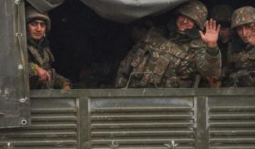 ৩০ বছর পর নাগরনো-কারাবাখে প্রবেশ আজারবাইজানের বাহিনীর