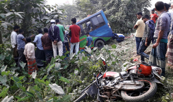 কুমিল্লায় বাসচাপায় ব্যাংক কর্মকর্তা নিহত