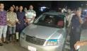 চট্টগ্রাম থেকে ছিনতাই হওয়া প্রাইভেটকার সোনাগাজীতে উদ্ধার