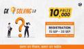 ৩০ সেপ্টেম্বর পর্যন্ত চলবে 'জিকে সলভিং ১.০'-এ রেজিস্ট্রেশন