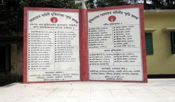 গোপালগঞ্জের কোটালীপাড়া মুক্ত দিবস আজ
