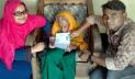 ১০৪ বছর বয়সে খাদিজা পেলেন ভাতা কার্ড