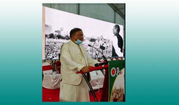 কলকাতার ব্রিগেড প্যারেড গ্রাউন্ডে বঙ্গবন্ধুকে স্মরণ