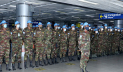 শান্তিরক্ষা মিশনে মনুস্কো গেল সেনাবাহিনীর প্রথম দল