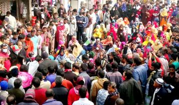 ডোমারে চার শতাধিক নারীর সড়ক অবরোধ-বিক্ষোভ