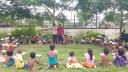 নরসিংদীতে পথশিশুদের পাঠশালা