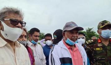 'পদ্মা রেলসংযোগ প্রকল্পে বড় সমস্যা নেই': পরিদর্শনে দুই মন্ত্রী