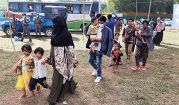 চট্টগ্রাম ট্রানজিট হয়ে ভাষানচর যাচ্ছেন ৫ হাজার রোহিঙ্গা