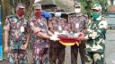 হিলিতে বিজিবি-বিএসএফের মিষ্টি বিনিময়