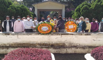 রাজবাড়ীতে মশাররফ হোসেনের জন্মবার্ষিকী উদযাপন