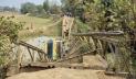 সুনামগঞ্জে ব্রিজ ভেঙে ট্রাক খালে, যোগাযোগ বিচ্ছিন্ন