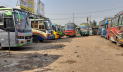 নওগাঁ-রাজশাহী রুটে বাস চলাচল বন্ধ