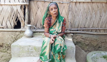 চৌদ্দ শতক জমিই কাল হয়েছে বিধবা আয়শার