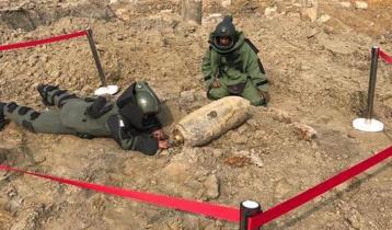 শাহজালালে মিললো আরও এক অবিস্ফোরিত বোমা