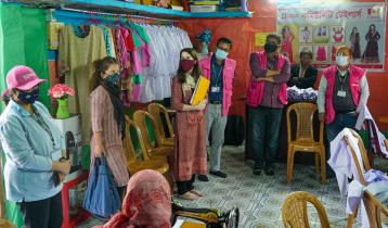 উখিয়ায় ব্র্যাকের কর্মসূচি পরিদর্শন করলো কানাডা হাইকমিশন