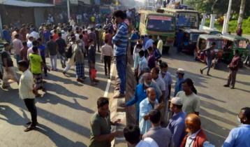 চট্টগ্রামে বাস চাপায় ব্যবসায়ী নিহত, প্রতিবাদে সড়ক অবরোধ