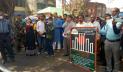 হিলিতে দুই বাংলার ভাষাপ্রেমীদের শুভেচ্ছা বিনিময়