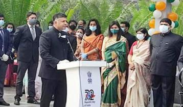 ঢাকায় ভারতের ৭২তম প্রজাতন্ত্র দিবস উদযাপন