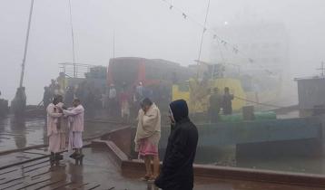 বাংলাবাজার-শিমুলিয়া নৌরুটে ফেরি চলাচল শুরু