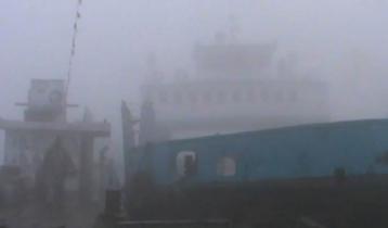 শিমুলিয়া-বাংলাবাজার নৌরুটে যান চলাচল বন্ধ