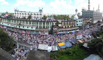আল্লামা শফীর জানাজা: চট্টগ্রাম নাজিরহাট সড়কে যান চলাচল বন্ধ